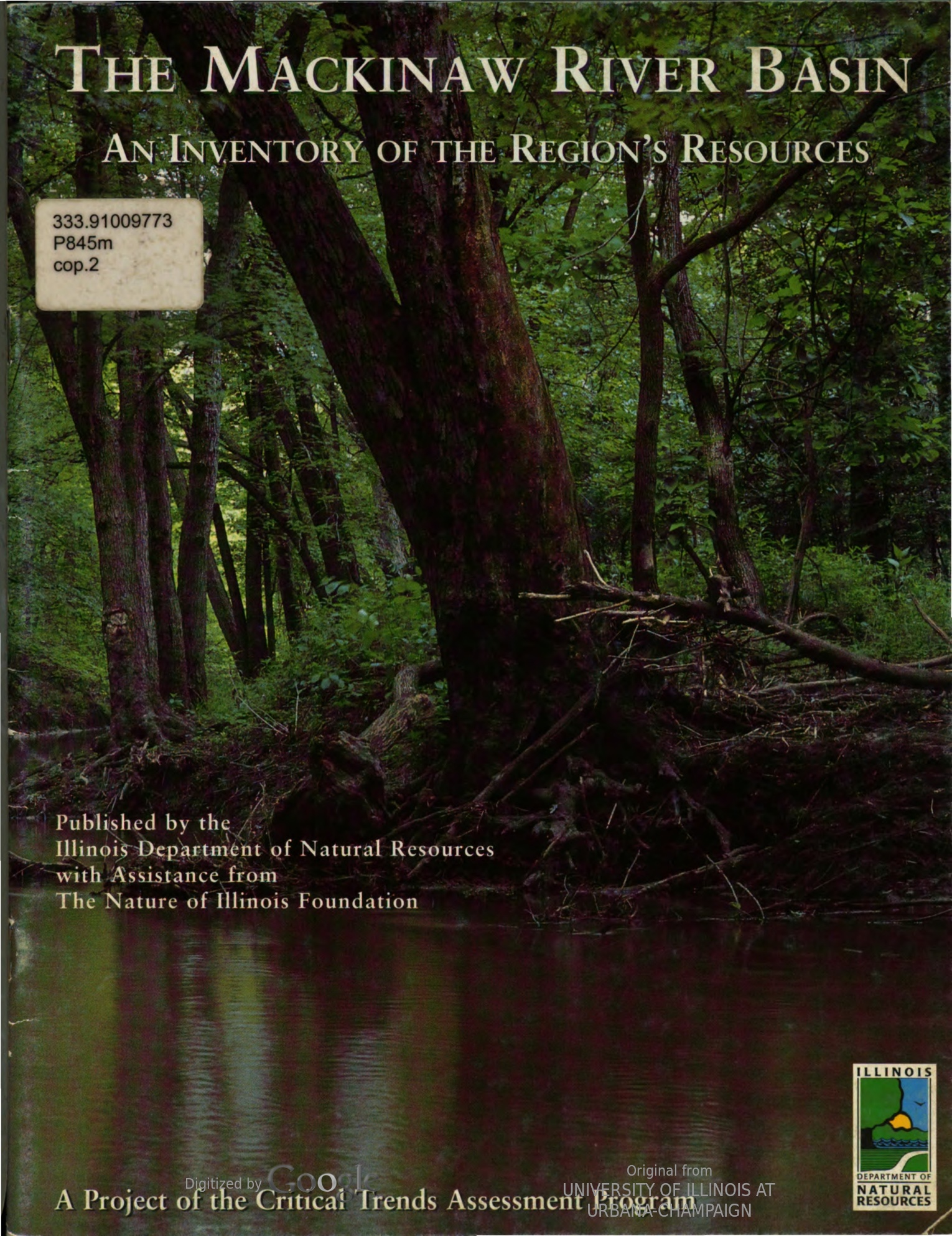 Illinois River Bluffs : An Inventory of the Region's Resources, cover