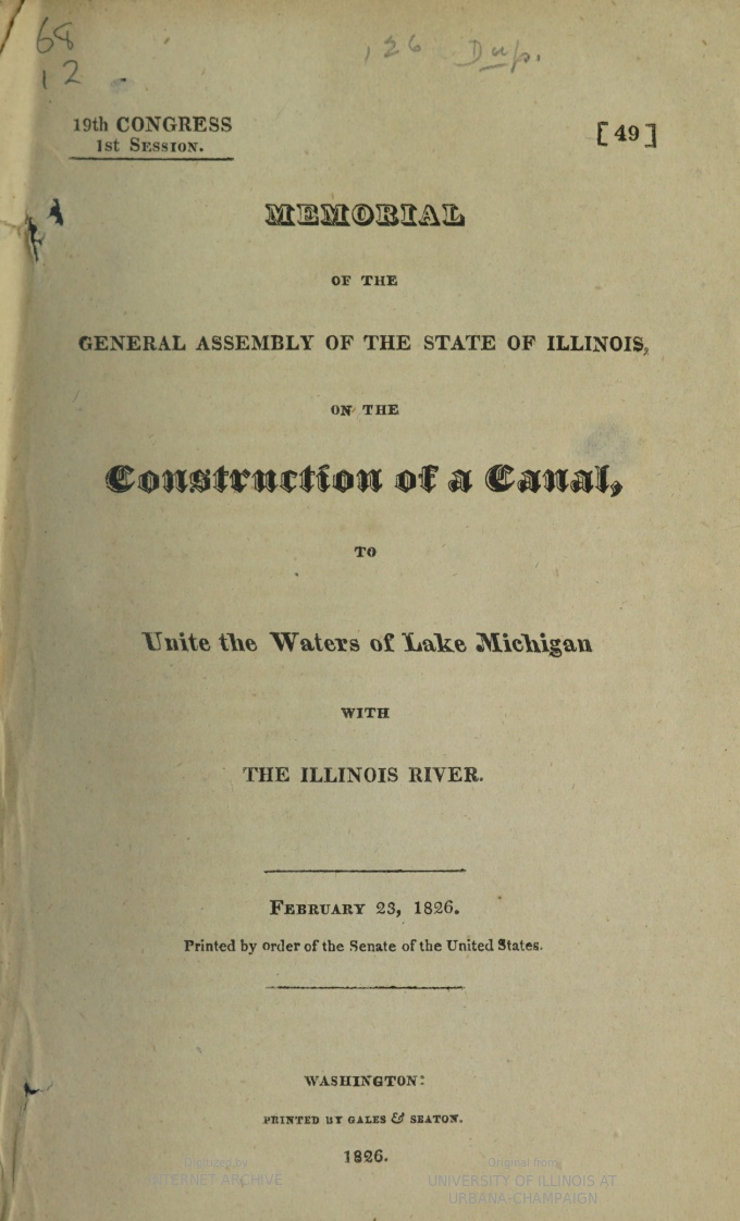 title page of document